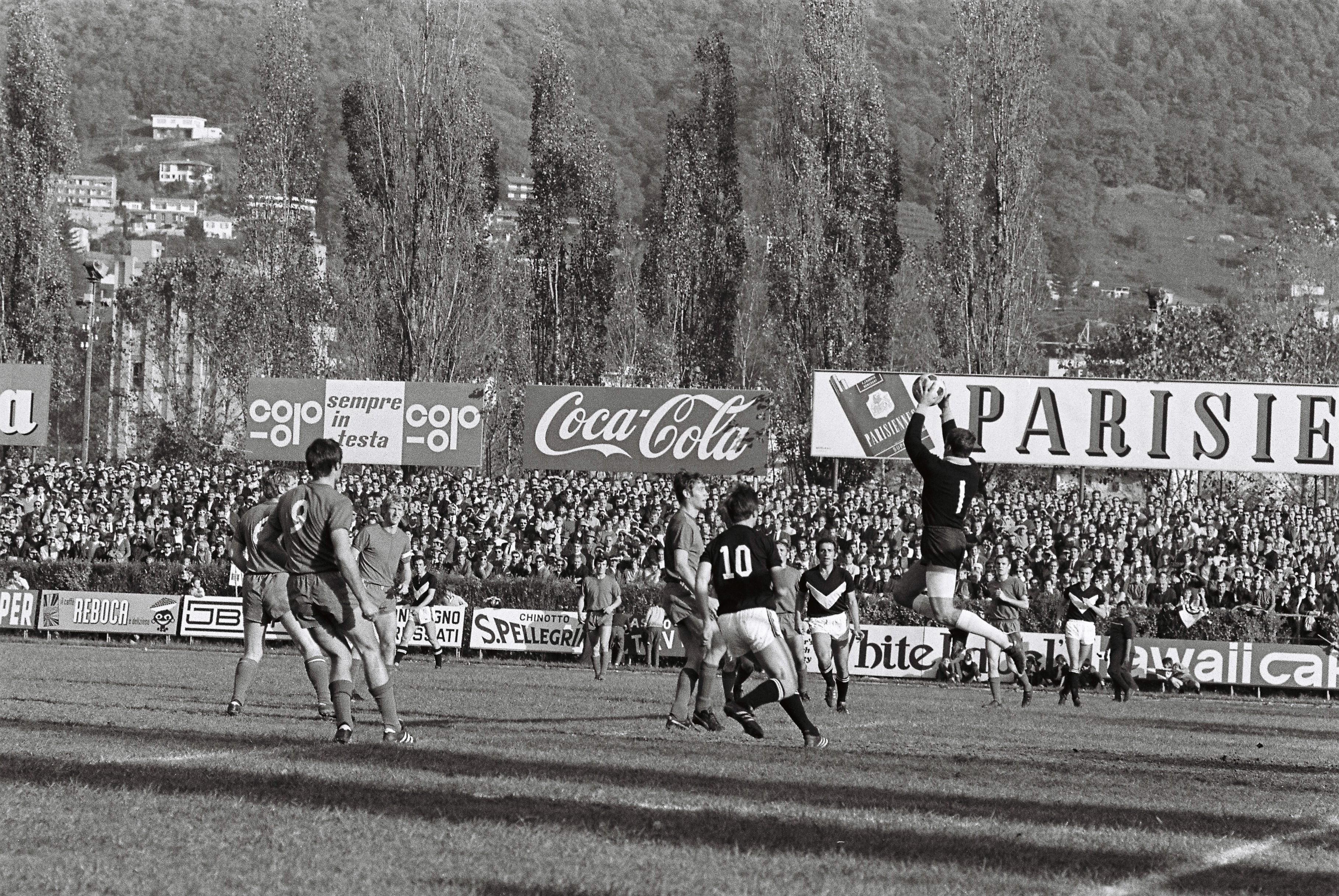 Cornaredo 1969 — Lugano - Basilea 2 a 1