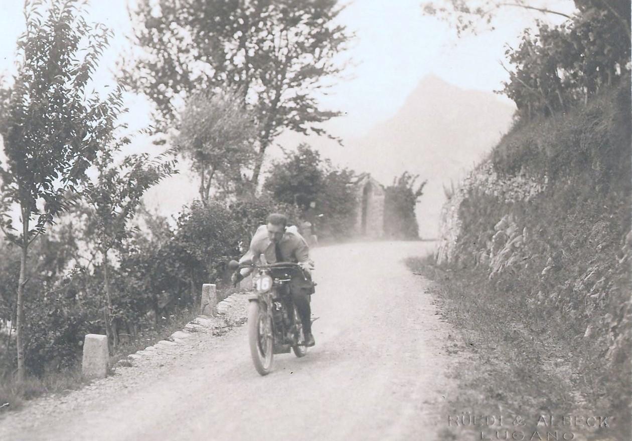 La V Lugano - Monte Bre' 1921