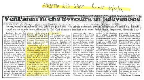 la TSI che si vedeva in Italia