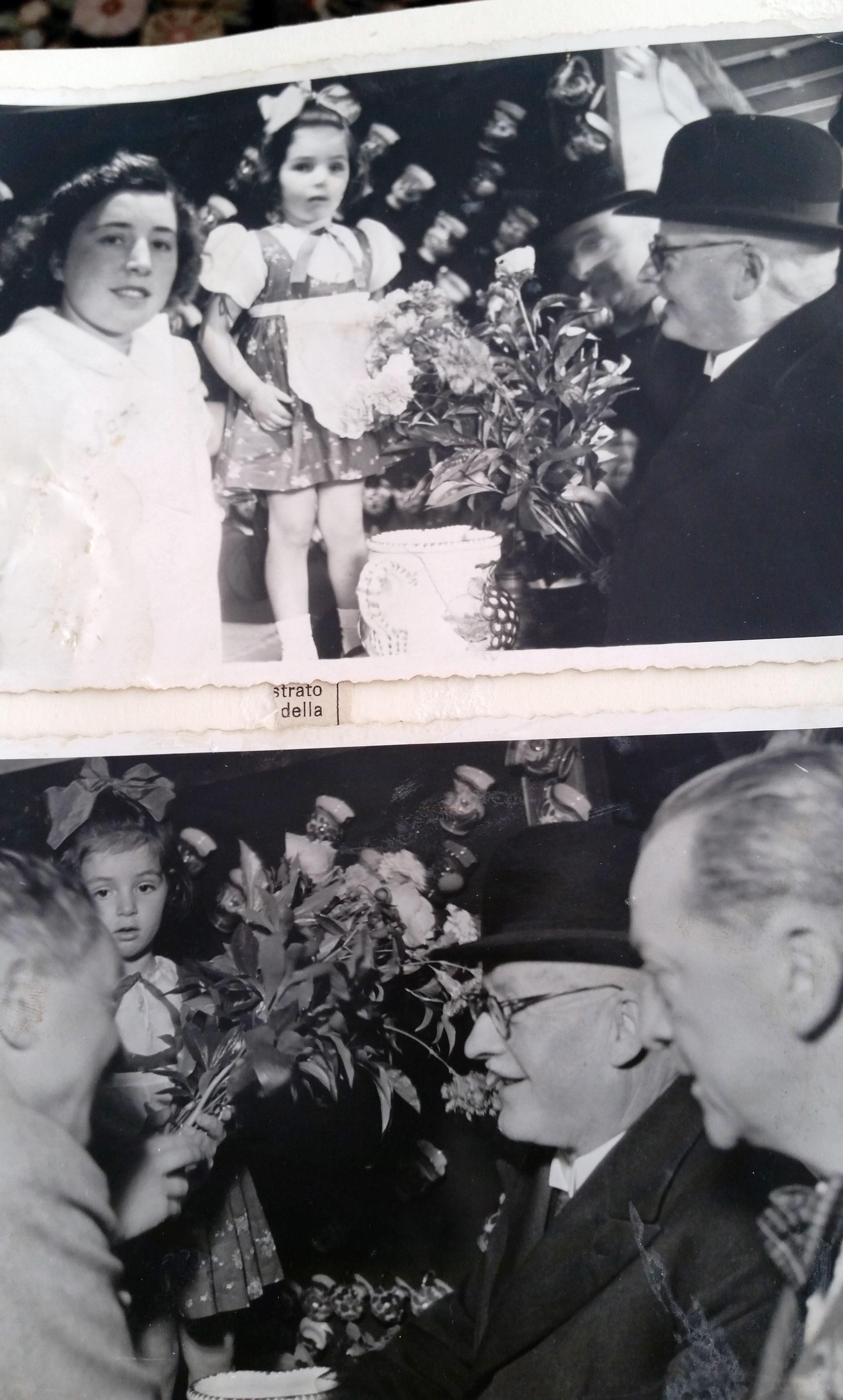 Giuseppe Motta in visita a Muralto