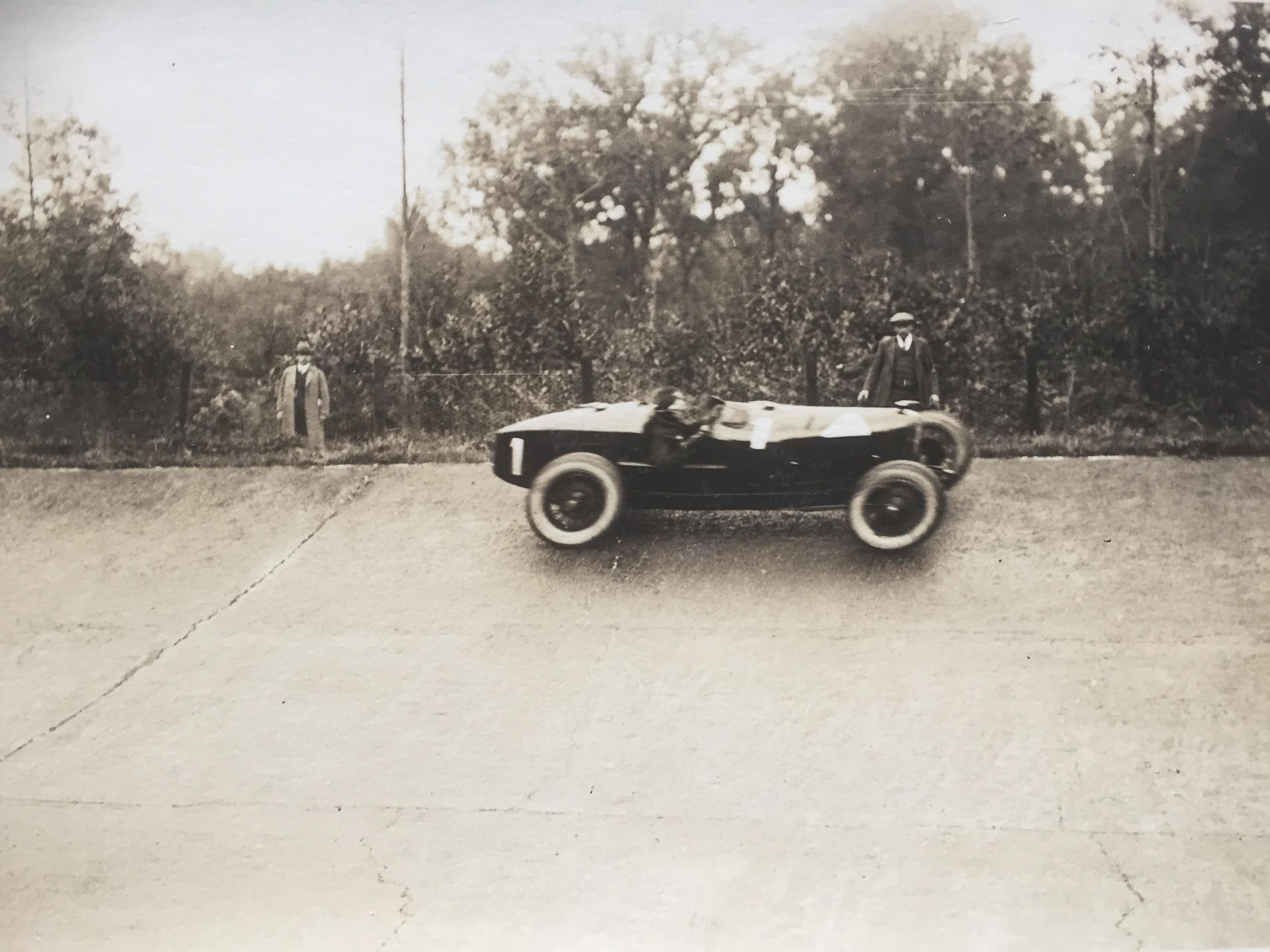 Monza la Bugatti di Martinelli di Chiasso