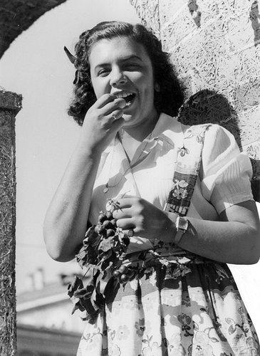 Festa della vendemmia a Lugano, 1942