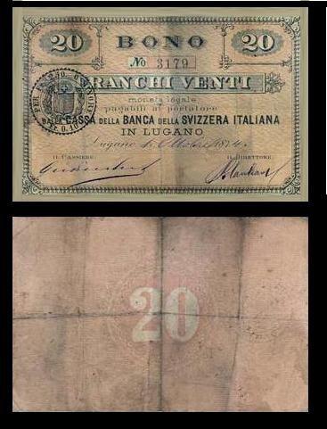 Bono - Banca della Svizzera Italiana-