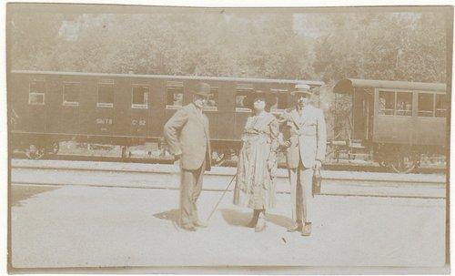 Lugano stazione 1920 ca