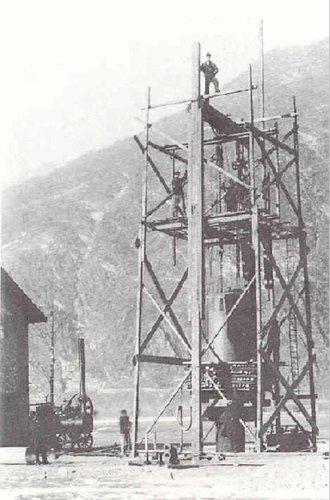 Stazione di pompaggio acqua Bellinzona