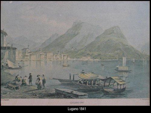 Lugano antica in visione