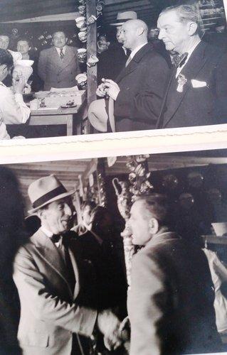 Philipp Etter ed Enrico Celio in visita a Muralto