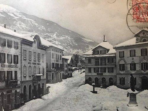 Faido, Piazza Stefano Franscini